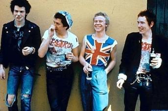 Sex Pistols во время турне по США. 1978
