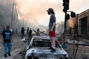 Протесты в США. 2020
