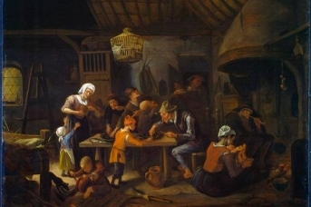 Ян Стен.Кухня бедных