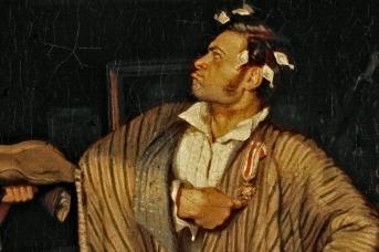 Павел Андреевич Федотов. Свежий кавалер. 1846 (фрагмент)