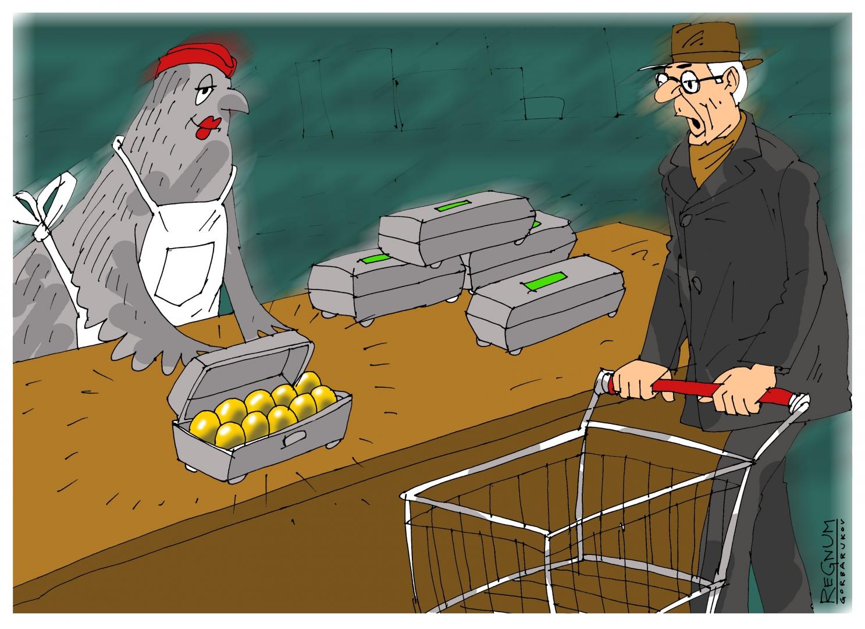 Минсельхоз РФ заявил об отсутствии предпосылок роста цен на яйца и птицу