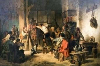 Матизен И. Школа воров. 1852