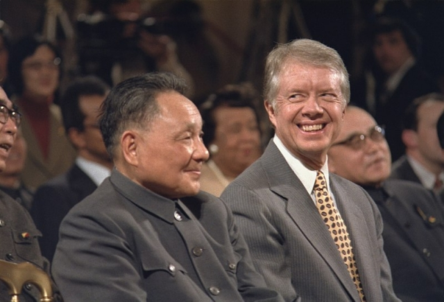 Дэн Сяопин и Джимми Картер