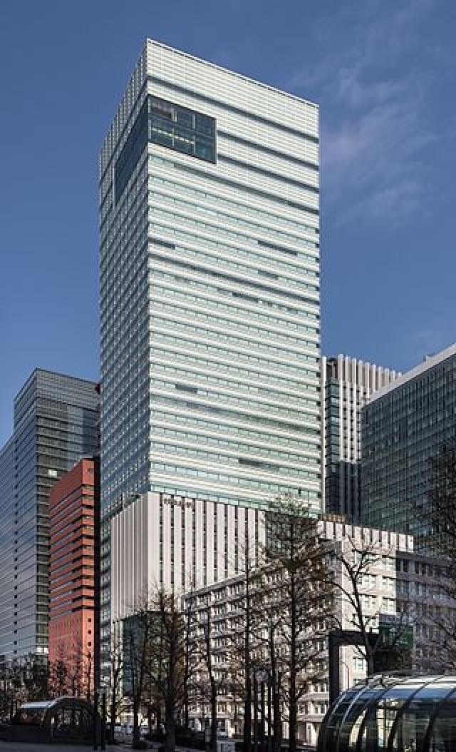 Штаб-квартира газеты «Иомиури Симбун» в Токио