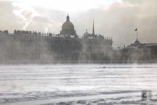 Зимний вид Санкт-Петербурга
