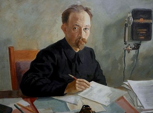 Евгений Кацман. Портрет Ф.Э.Дзержинского. 1923