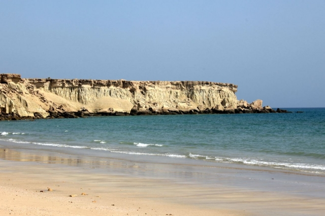 Пляж на острове Кешм