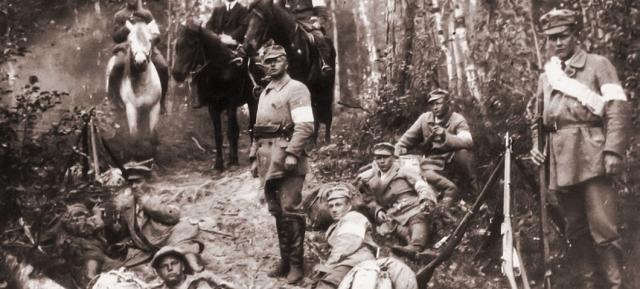 Белофинны в Карелии. 1920 год