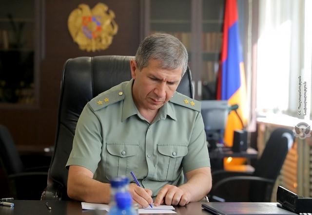 Начальник Генерального штаба ВС Армении, генерал-полковник Оник Гаспарян