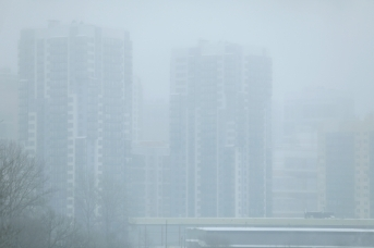 Туман в Санкт-Петербурге