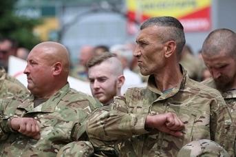 Боевики украинских националистических формирований