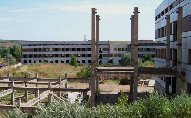 Руины. Родильный дом. Россия