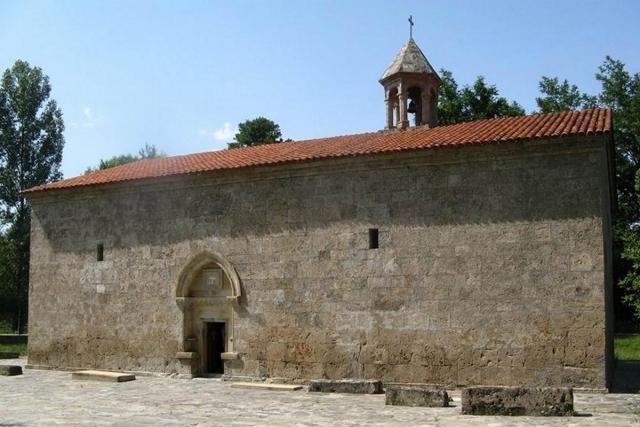 Церковь Святого Елисея в удинском селении Нидж
