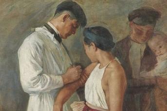 Виктор Тардьё. Вакцинация. 1923