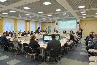На расширенном заседании коллегии  министерства здравоохранения области.