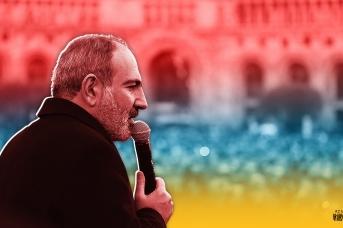 Выступление Никола Пашиняна на митинге на площади Республики