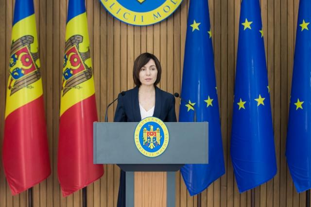 Новый президент Молдавии Майя Санду