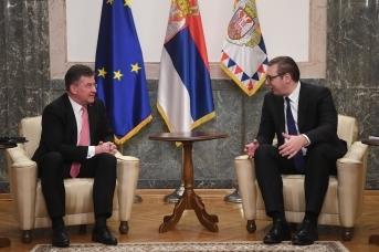 Встреча Мирослава Лайчака и Александра Вучича