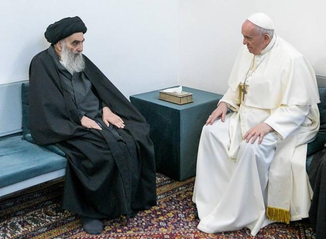 Символизм и мистика встречи папы Франциска и великого аятоллы аль-Систани