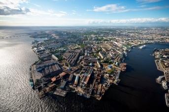 Панорама Балтийского завода