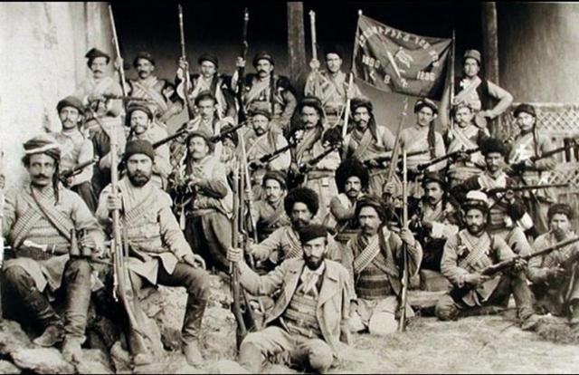 Отряд партии «Дашнакцутюн»