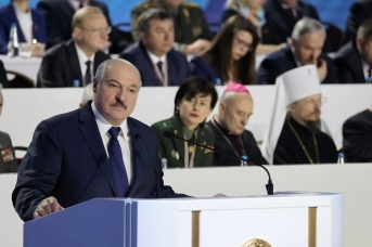 Выступление Александра Лукашенко на VI Всебелорусском народном собрании. President.gov.by