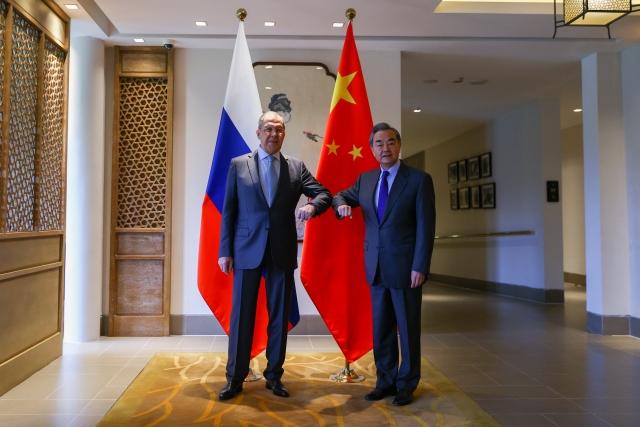 Встреча Сергея Лаврова с Ван И. 23 марта 2021 года, Пекин