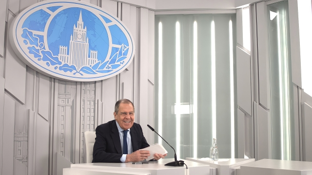 Интервью Сергея Лаврова СМИ Китая. 22 марта 2021 года, Москва