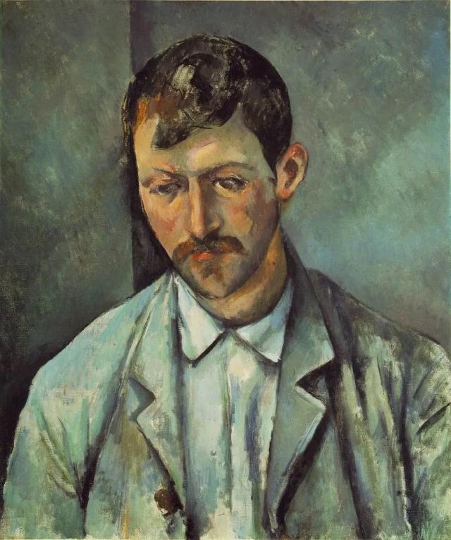 Поль Сезанн. Фермер. 1891