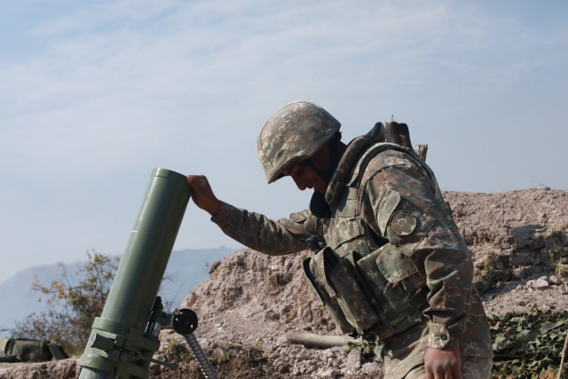 Бои в Карабахе