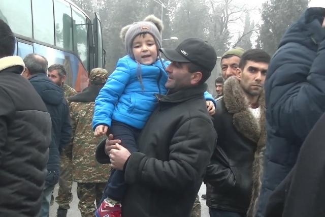 Беженцы. Нагорный Карабах mil.ru