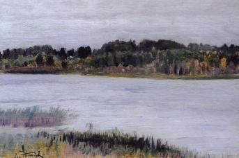 Михаил Нестеров. Река. 1910-е