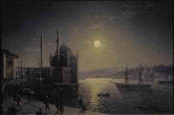 Иван Айвазовский. Лунная ночь на Босфоре. 1894