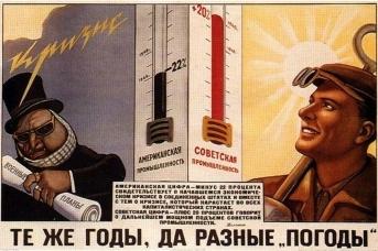 Плановая экономика. Советский плакат