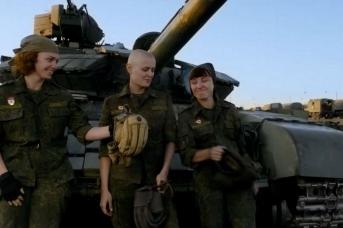 Ополченки Донбасса