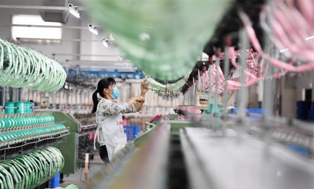 На китайском заводе
