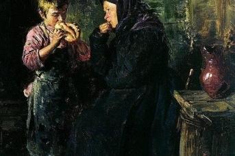 Владимир Маковский. Свидание. 1883