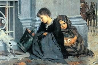 Э. Клаус «Богатство и бедность» 1880