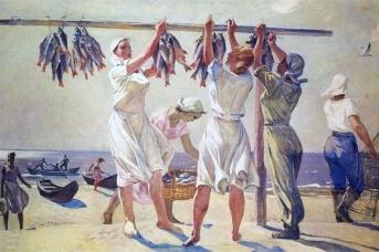 Александр Дейнека. У моря. 1956-1957