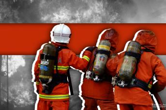 Пожарные. Иван Шилов © ИА REGNUM