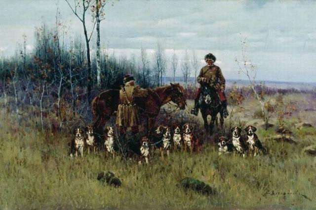 Сергей Ворошилов. Охота с гончими