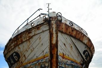 Старое судно