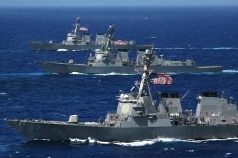 Эсминцы ВМС США