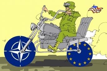 НАТО и ЕС. Александр Горбаруков © ИА REGNUM