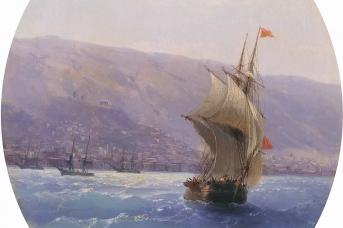 Иван Айвазовский. Вид Крыма. 1851