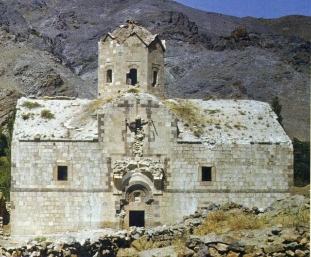 Агулис. Храм Сурб Степанос до его разрушения.
