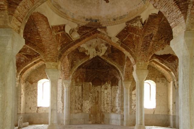 Шуши. Верхняя мечеть Гоар Аги до реставрации