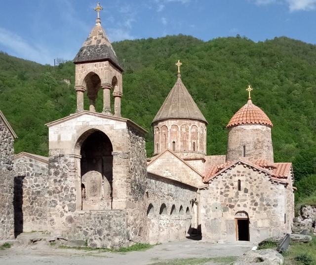 Монастырь Дадиванк, в наши дни.