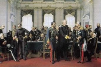 Антон фон Вернер. Берлинский конгресс. 1881
