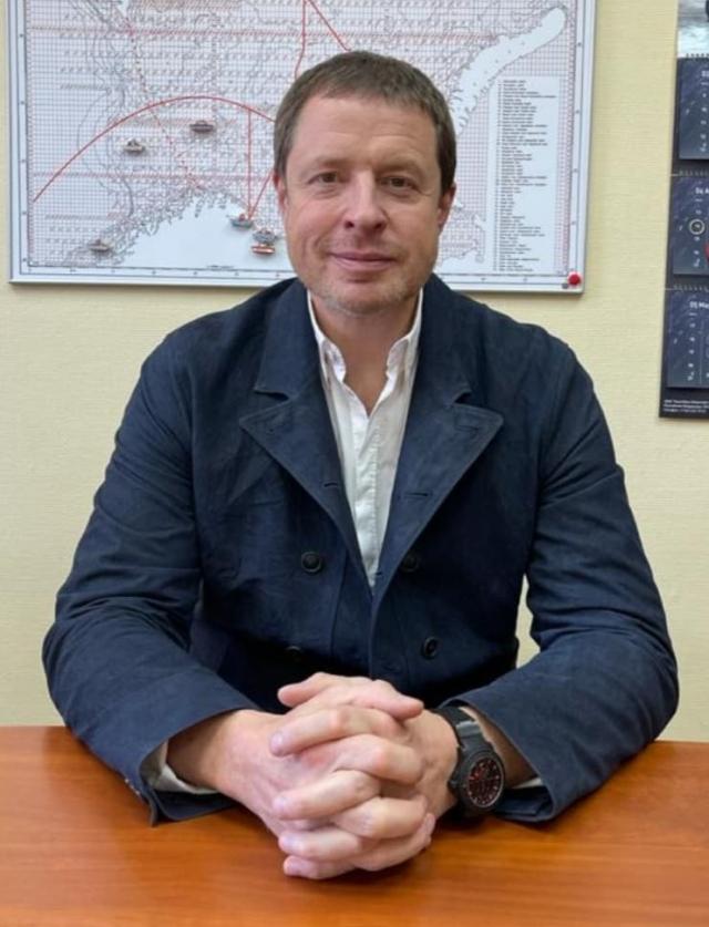 Андрей Заика, председатель Союза рыболовецких колхозов Архангельской области